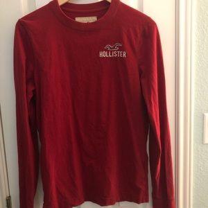 Red Hollister sweatshirt